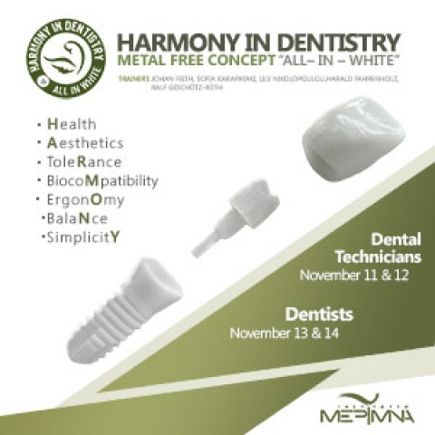 Free Metal Dentistry – All in White