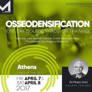 Osseodensification One Day Hands-On Training in Athens