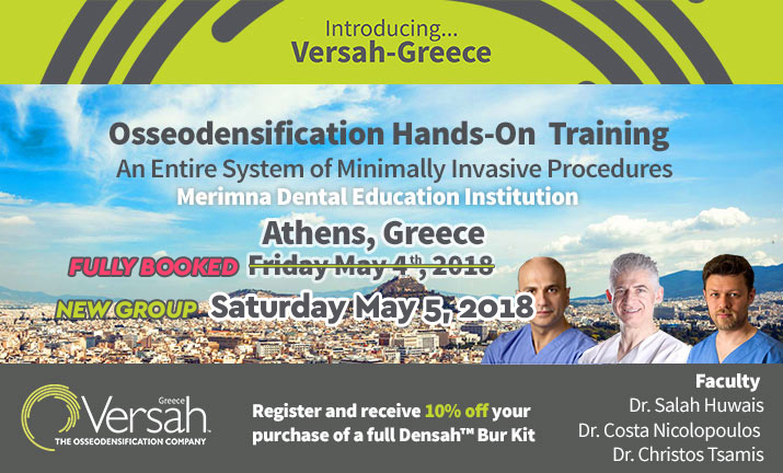 Osseodensification-athens 2018