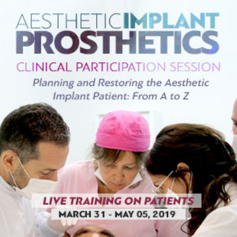 Merimna Aesthetic Implant Prosthetics-Clinical Participation Session