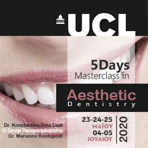 UCL 5 Days Masterclass in Aesthetic Dentistry 2020