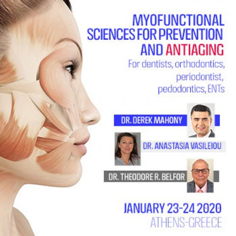 Myofunctional Therapy Sciences for Prevention & Antiaging