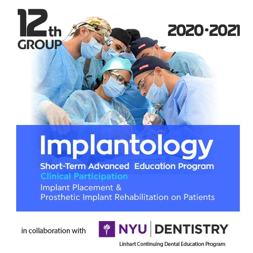 Implantology Clinical Participation Course 2020 - 2021