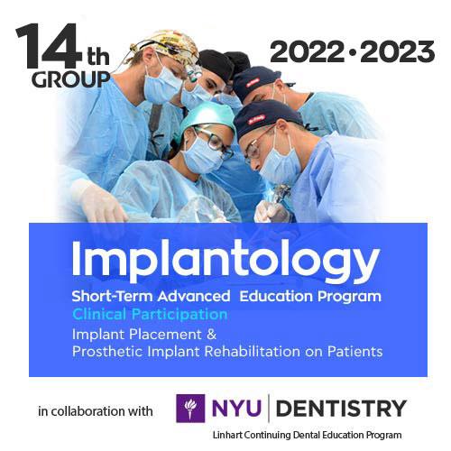 Short-Term Program in Implantology  2022-2023 Greece-New York