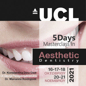UCL 5 Days Masterclass in Aesthetic Dentistry 2021