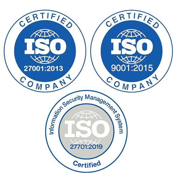 Πιστοποιήσεις ISO